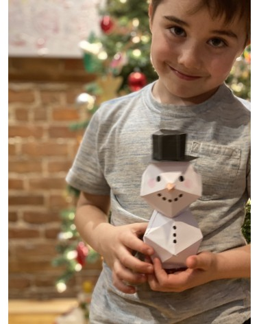 Snowman DIY Craft -...